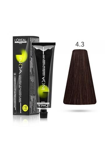 Inoa No:4,3 Saç Boyası 60 Gr Kahve